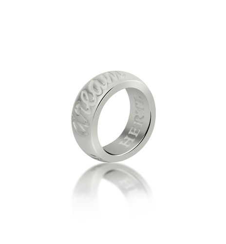 HERTL Ring 20213 DREAM HOPE BELIEVE 8mm